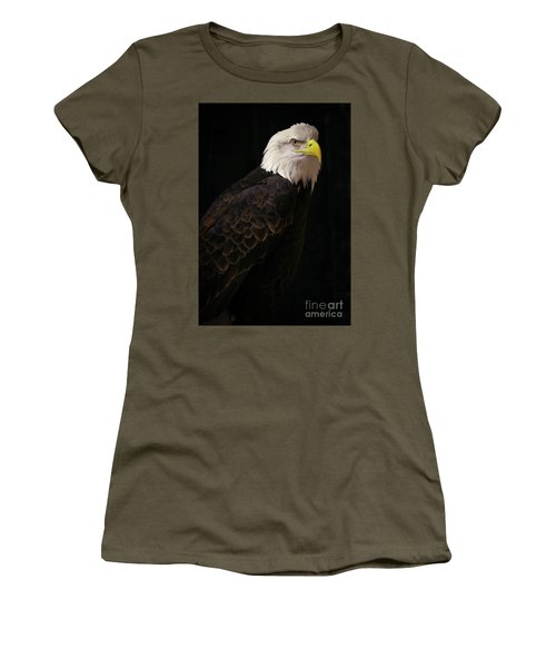 Women's T-Shirt (Athletic Fit) featuring the photograph Proud by Douglas Stucky