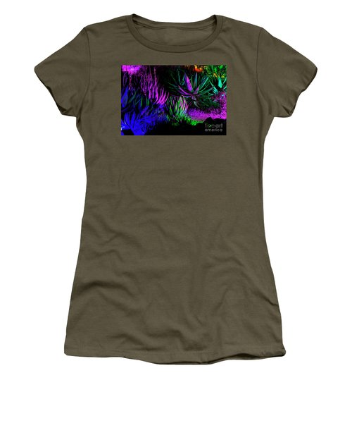 Psychedelia Women's T-Shirt (Junior Cut) by Kathy McClure