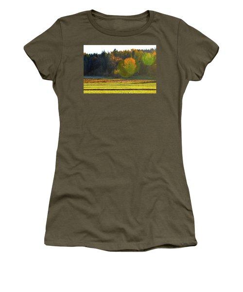 Pumpkin Sunset Women's T-Shirt