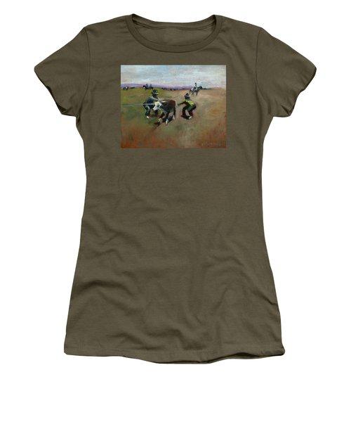 Punchin Doggies Women's T-Shirt