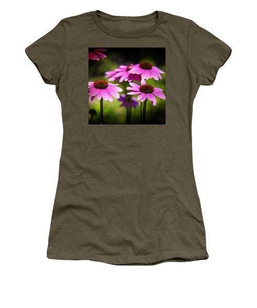 Purple Coneflowers Women's T-Shirt