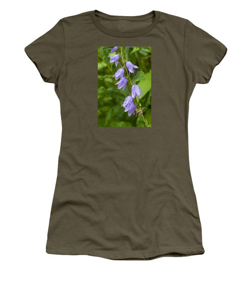 Purple Dew Drops Women's T-Shirt