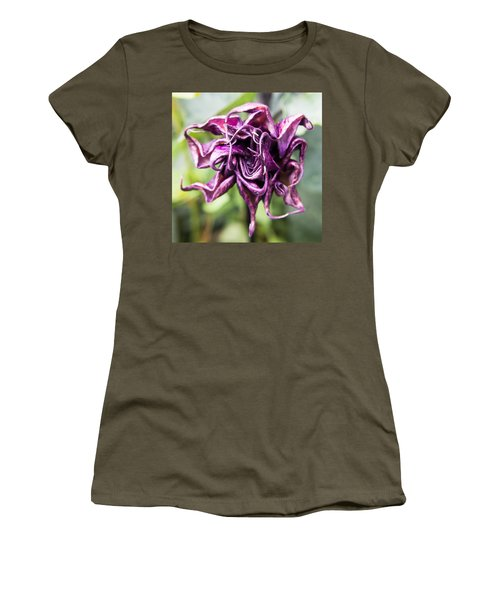 Purple Flower Women's T-Shirt