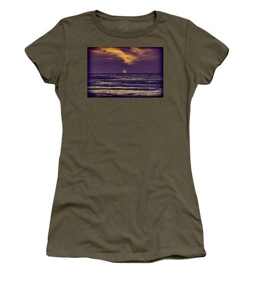 Purple Sunrise Women's T-Shirt