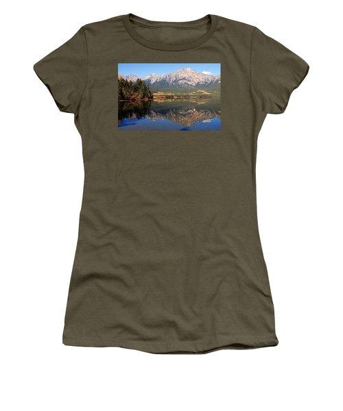 Pyramid Mountain And Pyramid Lake 2 Women's T-Shirt