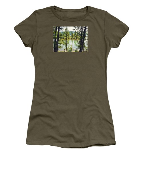 Women's T-Shirt (Junior Cut) featuring the photograph Quaint by Janie Johnson