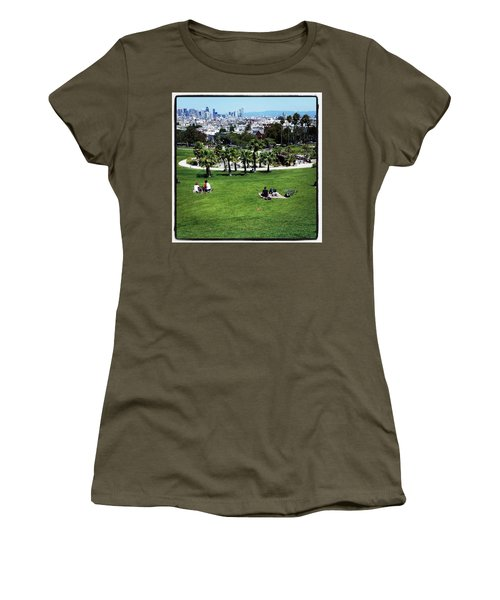 Women's T-Shirt featuring the photograph Quiet At #doloresgaybeach by Mr Photojimsf