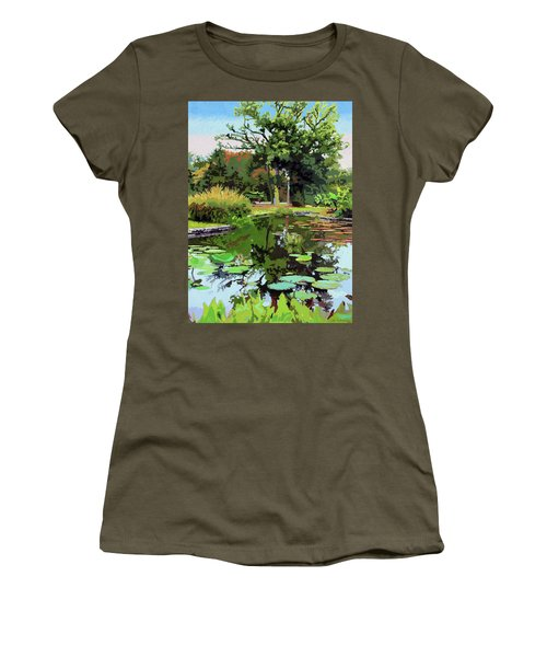 Quiet Time Women's T-Shirt (Athletic Fit)