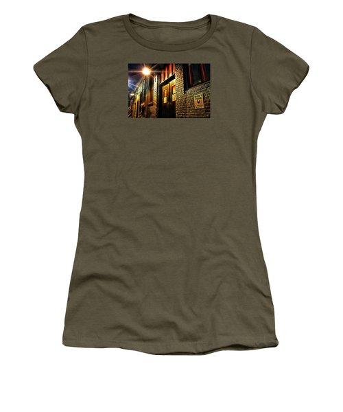 Quiet Zone Women's T-Shirt (Junior Cut) by Jessica Brawley