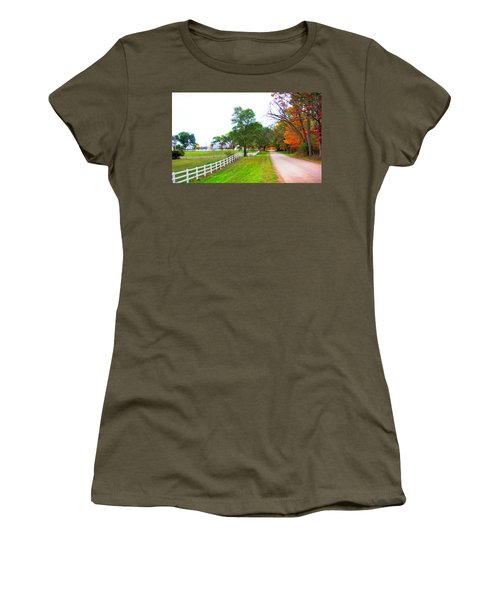 Quintessence Of Autumn Women's T-Shirt (Athletic Fit)