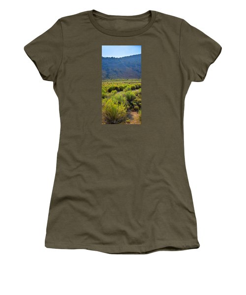 Rabbit Brush In Bloom Women's T-Shirt (Athletic Fit)