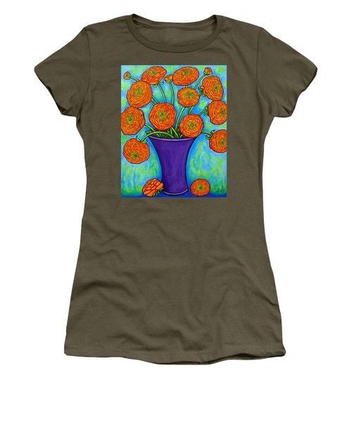 Radiant Ranunculus Women's T-Shirt