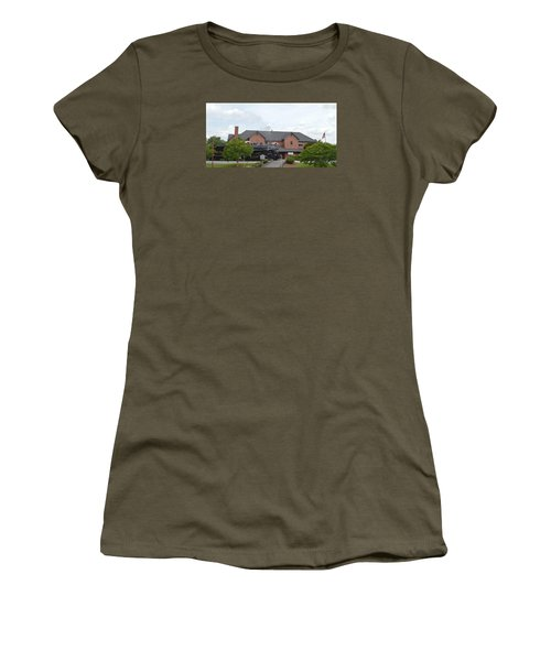 Railroad Depot Women's T-Shirt (Athletic Fit)