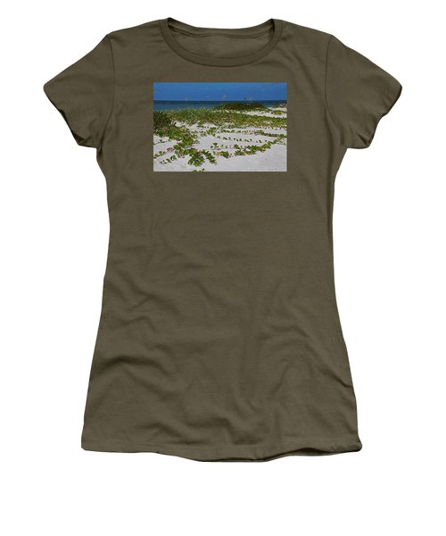 Railroad Vines On Boca IIi Women's T-Shirt (Athletic Fit)
