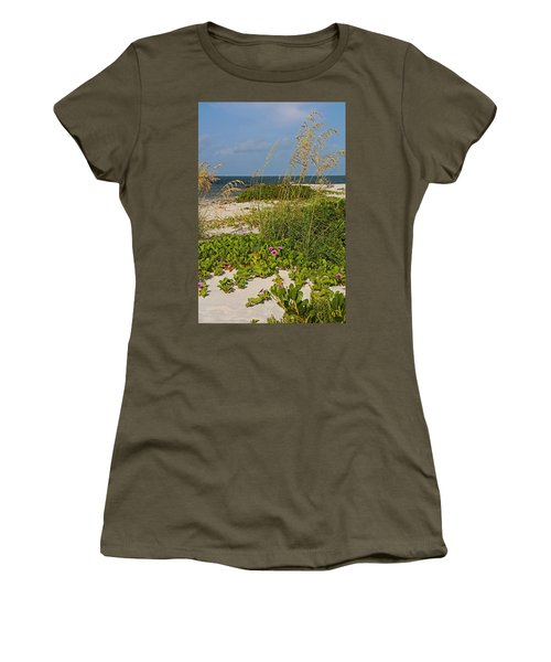 Railroad Vines On Boca Iv Women's T-Shirt (Athletic Fit)