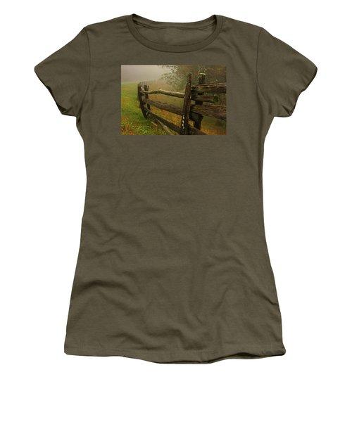 Rails Of Time Women's T-Shirt (Junior Cut) by Dale R Carlson