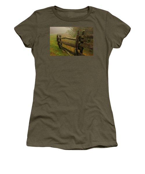 Rails Of Time Women's T-Shirt (Athletic Fit)