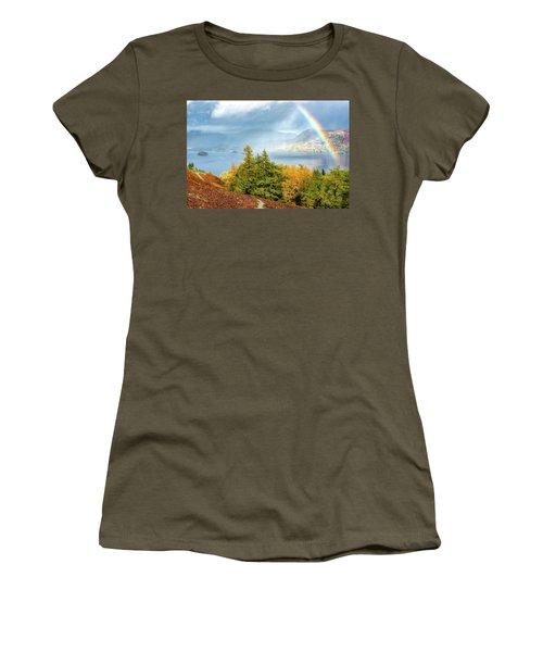 Rainbow Gold Women's T-Shirt