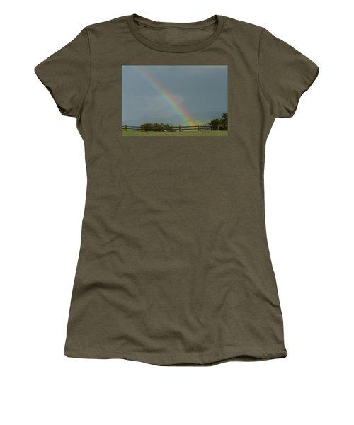 Rainbow On Valhalla Dr. Women's T-Shirt