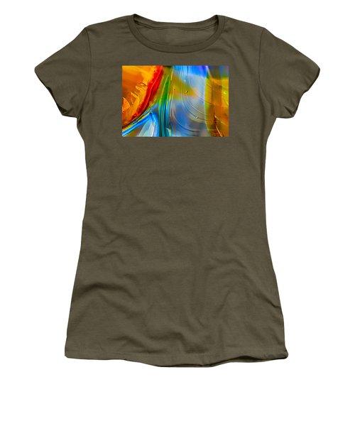 Rainbow Waterfalls Women's T-Shirt