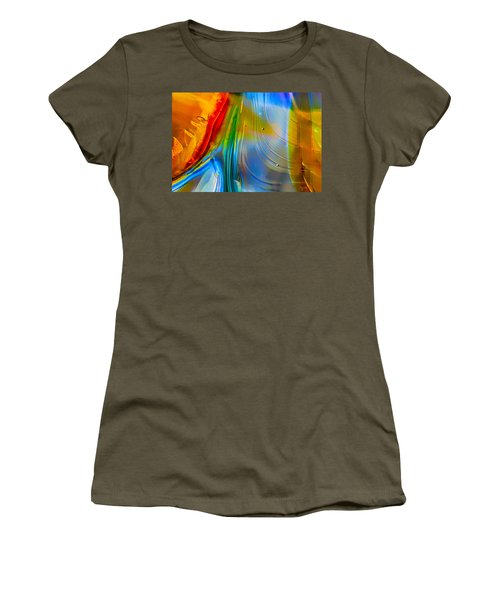 Rainbow Waterfalls Women's T-Shirt