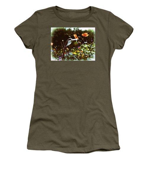 Raindrops Women's T-Shirt (Athletic Fit)