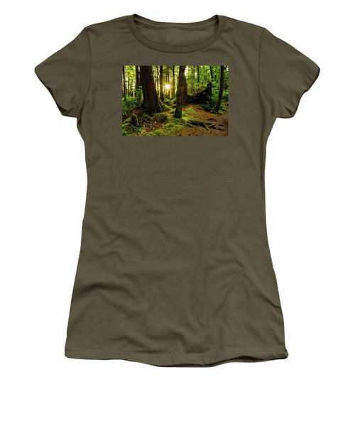 Rainforest Path Women's T-Shirt (Junior Cut)