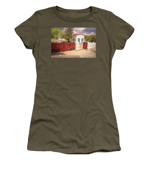 Ranch Family Homestead Women's T-Shirt (Athletic Fit)