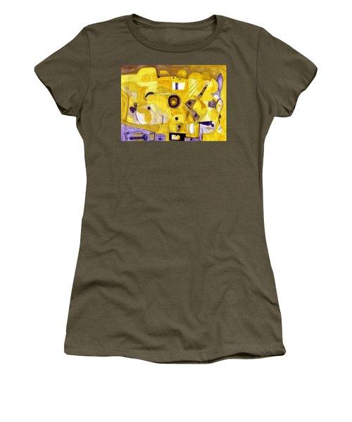 Random Landscape Women's T-Shirt (Athletic Fit)