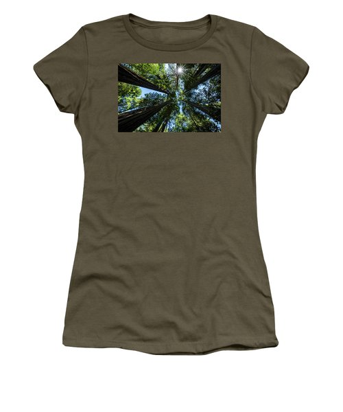 Reaching For The Sun Women's T-Shirt