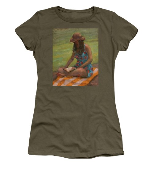 Reading At Jersey Valley Women's T-Shirt