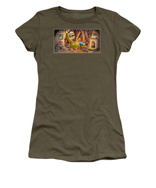 Reading Is Magic Pg 1 Women's T-Shirt (Junior Cut) by Matt Konar