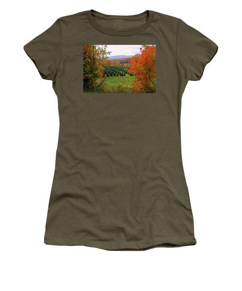 Ready For Christmas Women's T-Shirt (Junior Cut) by Dale R Carlson