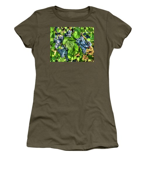 Women's T-Shirt (Junior Cut) featuring the photograph Ready For Harvest by Alan Toepfer