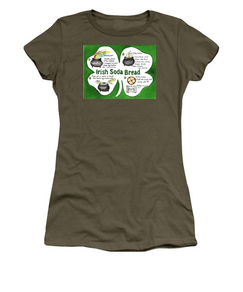 Recipe - Irish Soda Bread Women's T-Shirt (Athletic Fit)