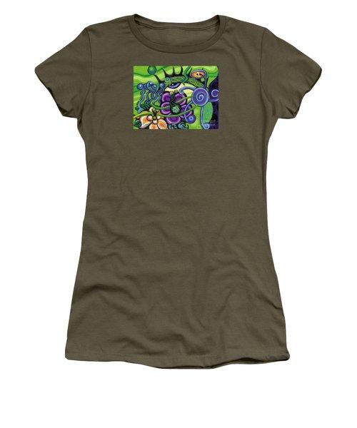 Reciprocal Liason Of The Sea II Women's T-Shirt (Junior Cut) by Genevieve Esson
