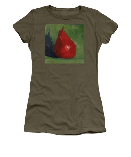 Red Pear Women's T-Shirt (Athletic Fit)