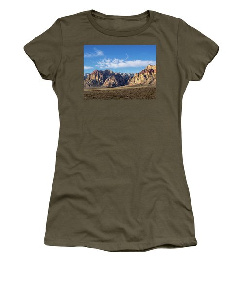 Red Rock Morning Women's T-Shirt