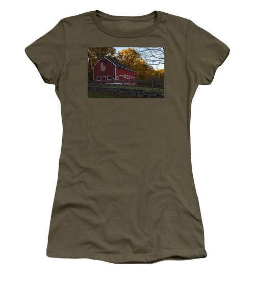 Red Rustic Barn Women's T-Shirt