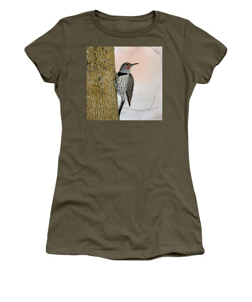 Red Shafted Northern Flicker Women's T-Shirt