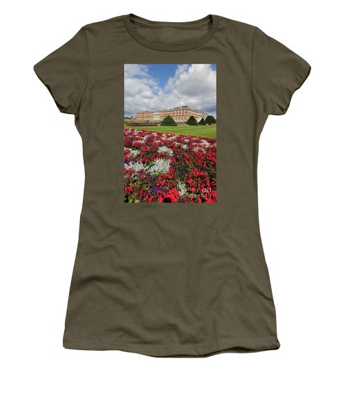 Red White And Blue At Hampton Court Women's T-Shirt (Athletic Fit)