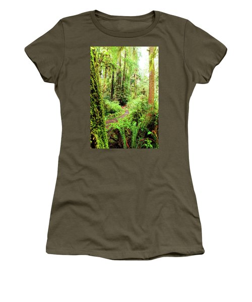 Red Woods Trail Women's T-Shirt