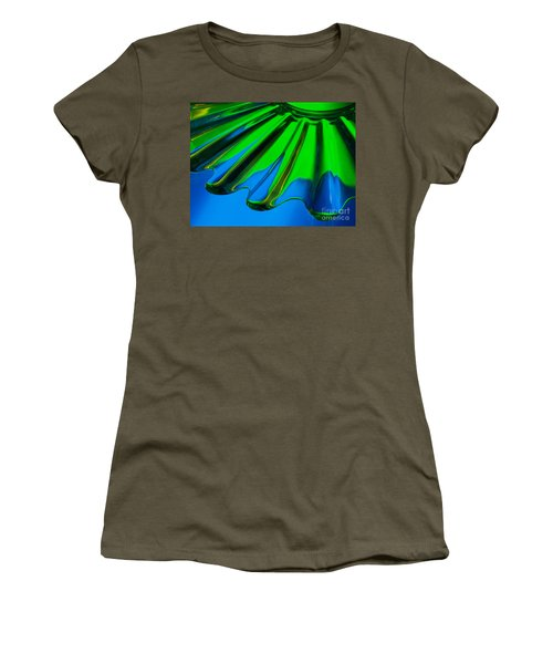 Reflected Women's T-Shirt (Athletic Fit)