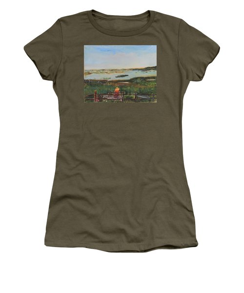 Reflecting Women's T-Shirt (Athletic Fit)