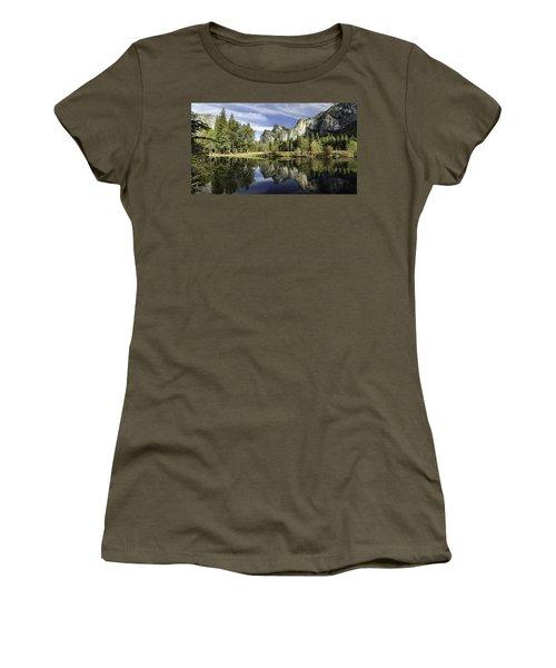Reflecting On Yosemite Women's T-Shirt