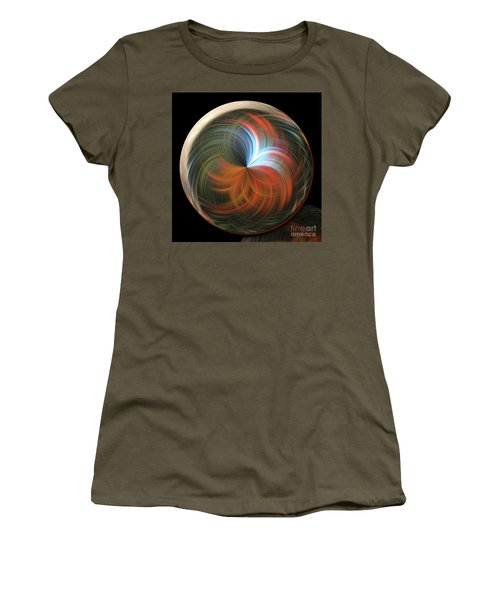 Reflecting Orb Women's T-Shirt (Athletic Fit)