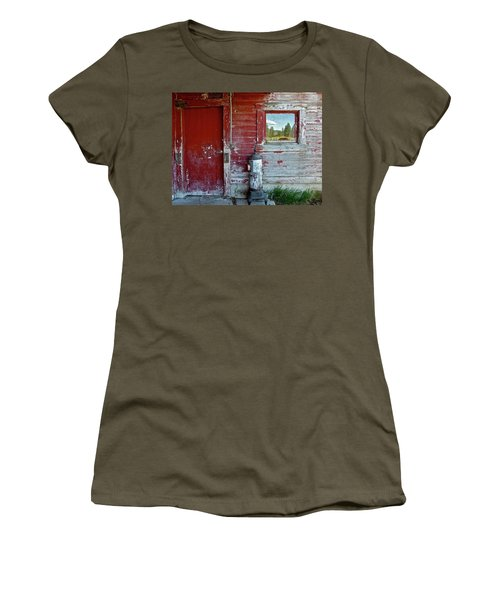 Reflecting The Landscape Women's T-Shirt