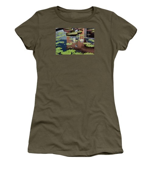Reflections II Women's T-Shirt (Junior Cut) by Suzanne Gaff