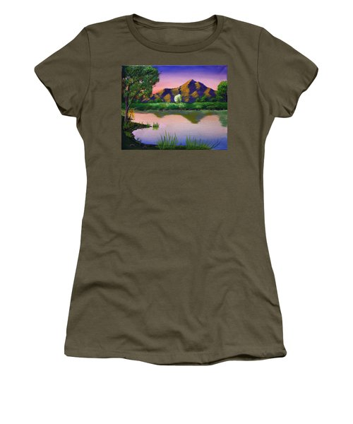 Reflections In The Breeze Women's T-Shirt