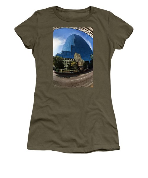 Reflections Of Fort Worth Women's T-Shirt